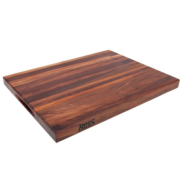 John Boos WAL-R01 Reversible Walnut 18x12x1.5 Cutting Board