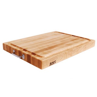 John Boos RAFR2418 Maple 24x18x2.25 Board and Stainless Handles