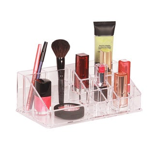 Richards Homewares Personal 16-compartment Clear Cosmetic Organizer