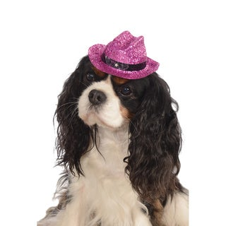 Rubies Pink Sparkley Cowboy Hat Pet Costume