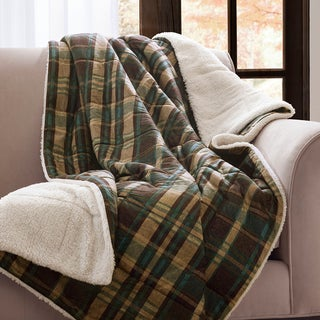 Woolrich Hadley Softspun Down Alternative Filled Throw
