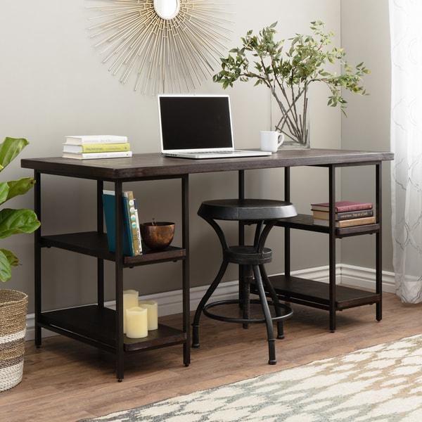 Renate Desk in Coffee Finish