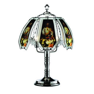 Last Supper Motif Touch Table Lamp