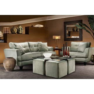 Uptown 6 piece sofa set set of 6 for 10 piece living room set