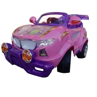 Best Ride On Cars Pink Thunder Ride-On