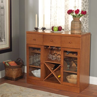 Simple Living Sedona Wine Cabinet