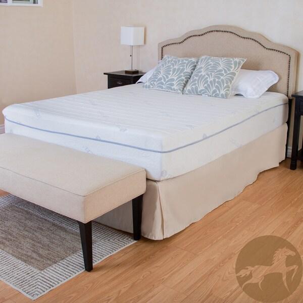Christopher Knight Home Comfort Medium Firm 11-inch Queen-size Gel Memory Foam Mattress