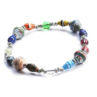 New Horizon Recycled Paper Stretch Bracelet (Kenya)