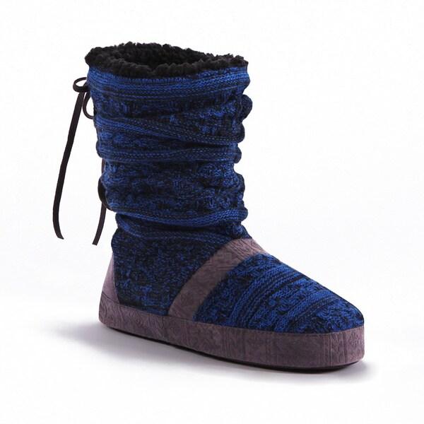 MUK LUKS Wome's Jenna Slipper Boot