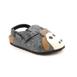 Birki's Girl (Youth) 'Cork Sandal - Sheep' Felt Casual Shoes