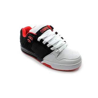 Osiris Men's 'Pixel' Synthetic Athletic Shoe - Black/White/Red