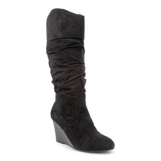 Rampage Women's 'Saburo' Black Fabric Boots