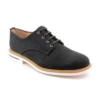 J.D.Fisk Men's 'Hardy' Black Canvas Casual Shoes