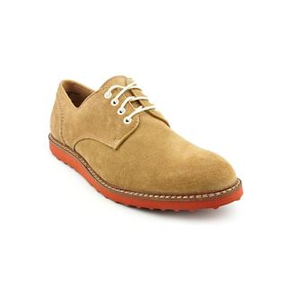 Hush Puppies Men's 'Derby Wedge' Tan Regular Suede Casual Shoes