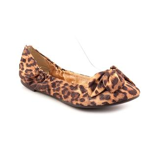 CL By Laundry Women's 'Great Life' Brown Animal Print Fabric Dress Shoes