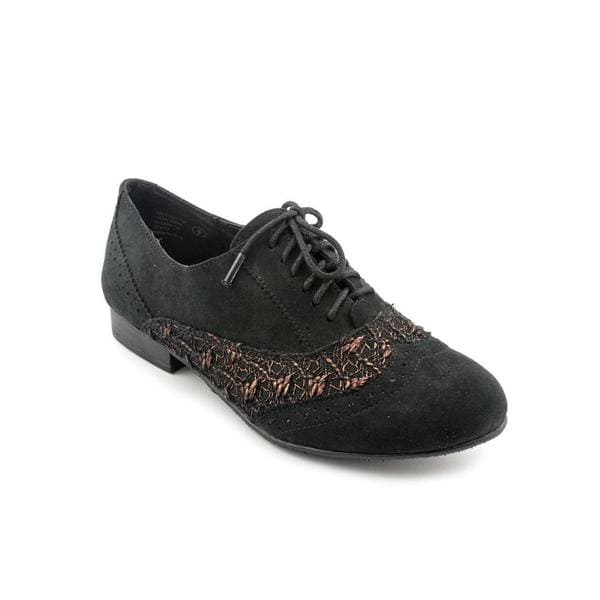 Not Rated Women's Black 'Pretty Charming' Fabric Casual Shoes