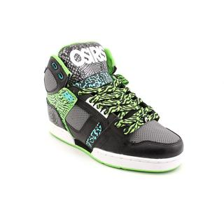 Osiris Men's 'NYC 83' Man-Made Athletic Shoe - Black/Green