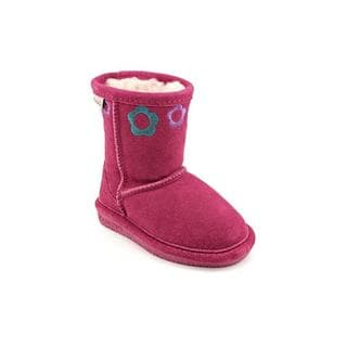 Bearpaw Girl (Toddler) 'Jessie' Regular Suede Boots
