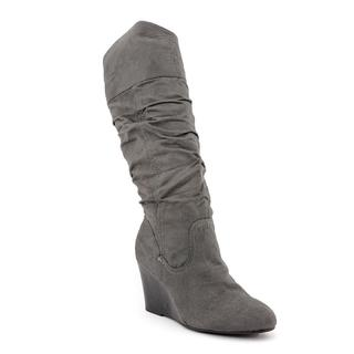 Rampage Women's 'Saburo' Gray Fabric Boots