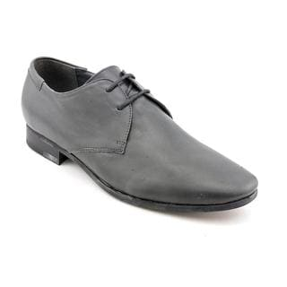 Steve Madden Men's 'Gorrdon' Gray Leather Dress Shoes