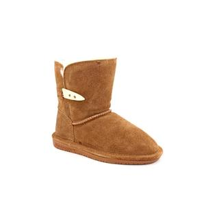 Bearpaw Girl (Youth) 'Abigail' Regular Suede Boots