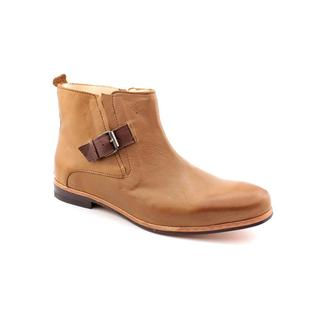 J.D.Fisk Men's 'Memphis' Light Brown Leather Boots