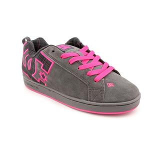 DC Women's 'Court Graffik SE' Regular Suede Athletic Shoe