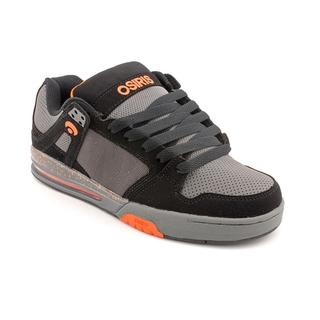 Osiris Men's 'Pixel' Synthetic Athletic Shoe - Black/Gray/Orange