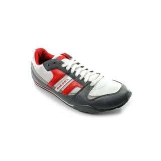 Diesel Men's 'Long Term Gunner' Medium-Width Leather Athletic Shoes
