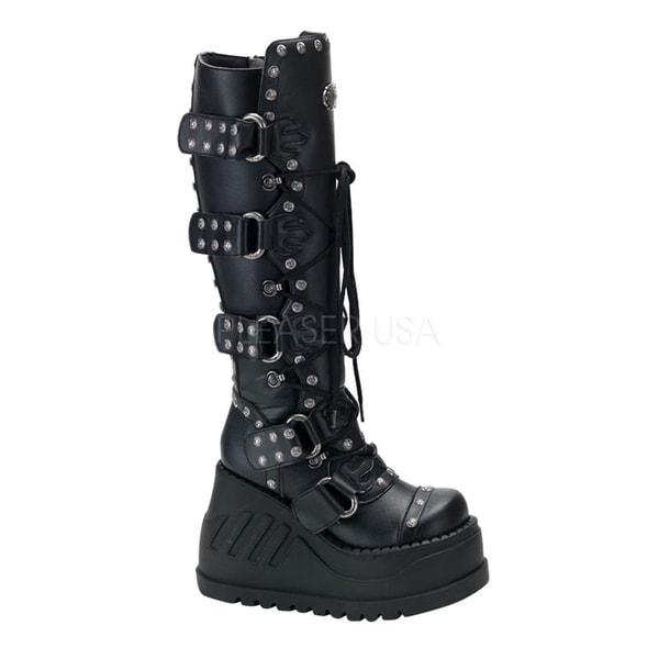Demonia Stomp-313 Women's Knee High Boots