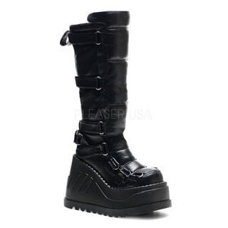 Demonia Stomp-306 Women's Platform Knee High Boots