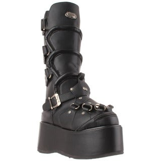 Demonia 'Wicked-732' Men's Mid Calf Boots