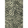 Safari Black/White Rug (8 x 11)