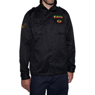 Men's JAH Army Patch Rasta Jacket (Nepal)