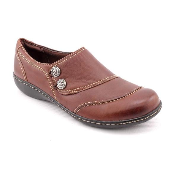 Clarks Women's 'Ashland Alpine' Brown Leather Casual Shoes