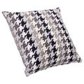 Houndstooth Charcoal Pillow