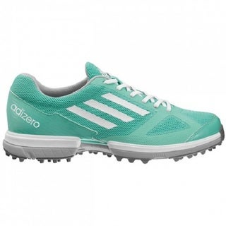 Adidas Women's Adizero Sport Joy Green/ White Golf Shoes