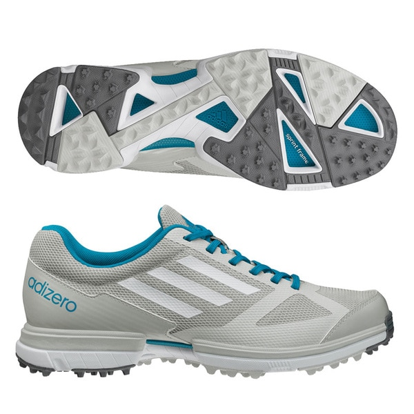 Adidas Women's Adizero Sport Grey/ Marine Golf Shoes