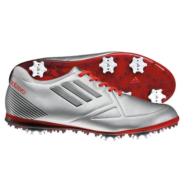 Adidas Women's Adizero Tour Silver Golf Shoes