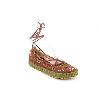 CL By Laundry Women's 'Shanghai' Brown Fabric Casual Shoes