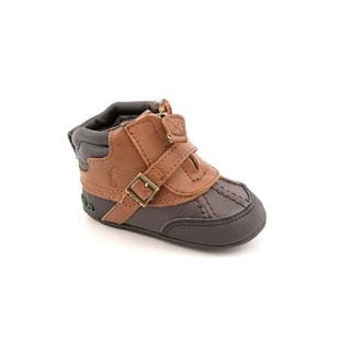 Ralph Lauren Layette Boy (Infant) 'Country Zip' Leather Boots