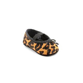 Ralph Lauren Layette Girl (Infant) 'Allie' Hair Calf Casual Shoes