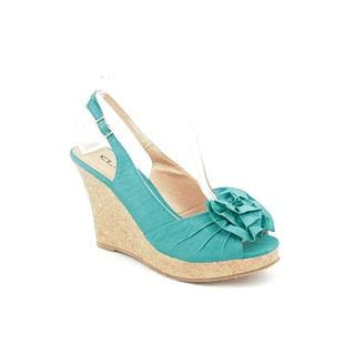 CL By Laundry Women's 'Ilena' Fabric Sandals