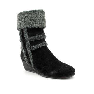 Easy Spirit Women's 'Brandia' Regular Suede Boots - Wide