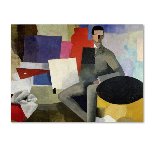 Roger de La Fresnaye 'The Architect' Canvas Art