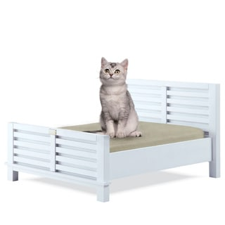 Classic Paws Dakota Wood Frame Pet Bed