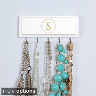 White Custom Necklace Holder