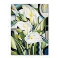 Catherine Abel 'Cubist Lilies 2002' Canvas Art