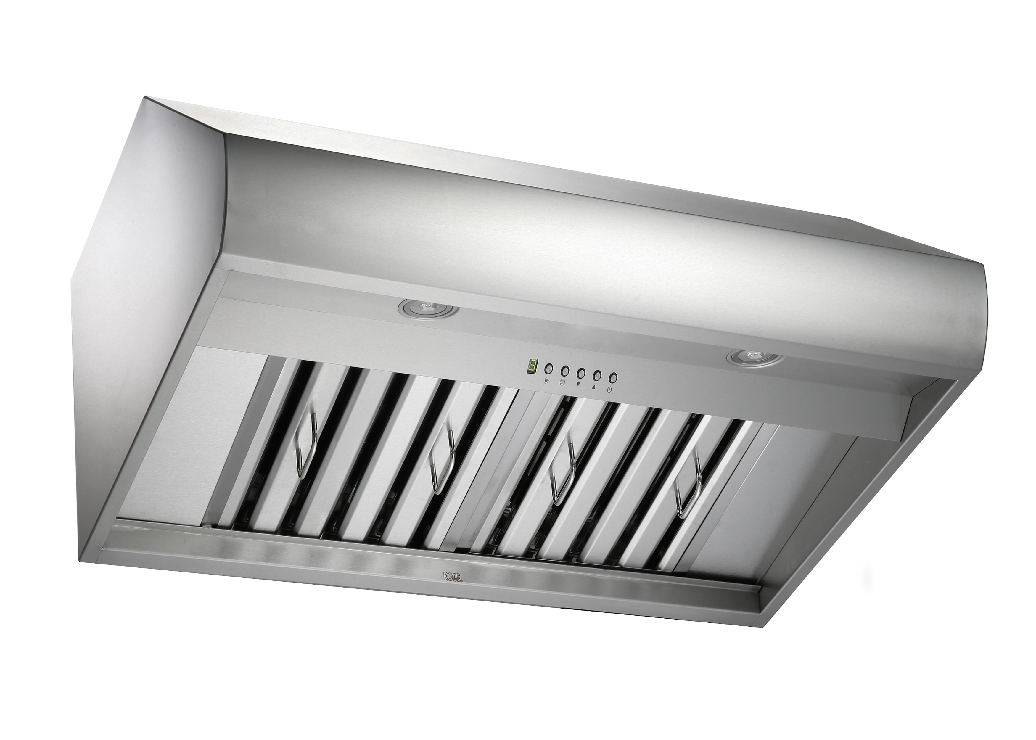"KOBE Premium CH-77 SQB-1 Series, 30"" Under Cabinet, 6-Speed, 760 CFM, LED Lights, Baffle Filters, QuietMode, ECO Mode"