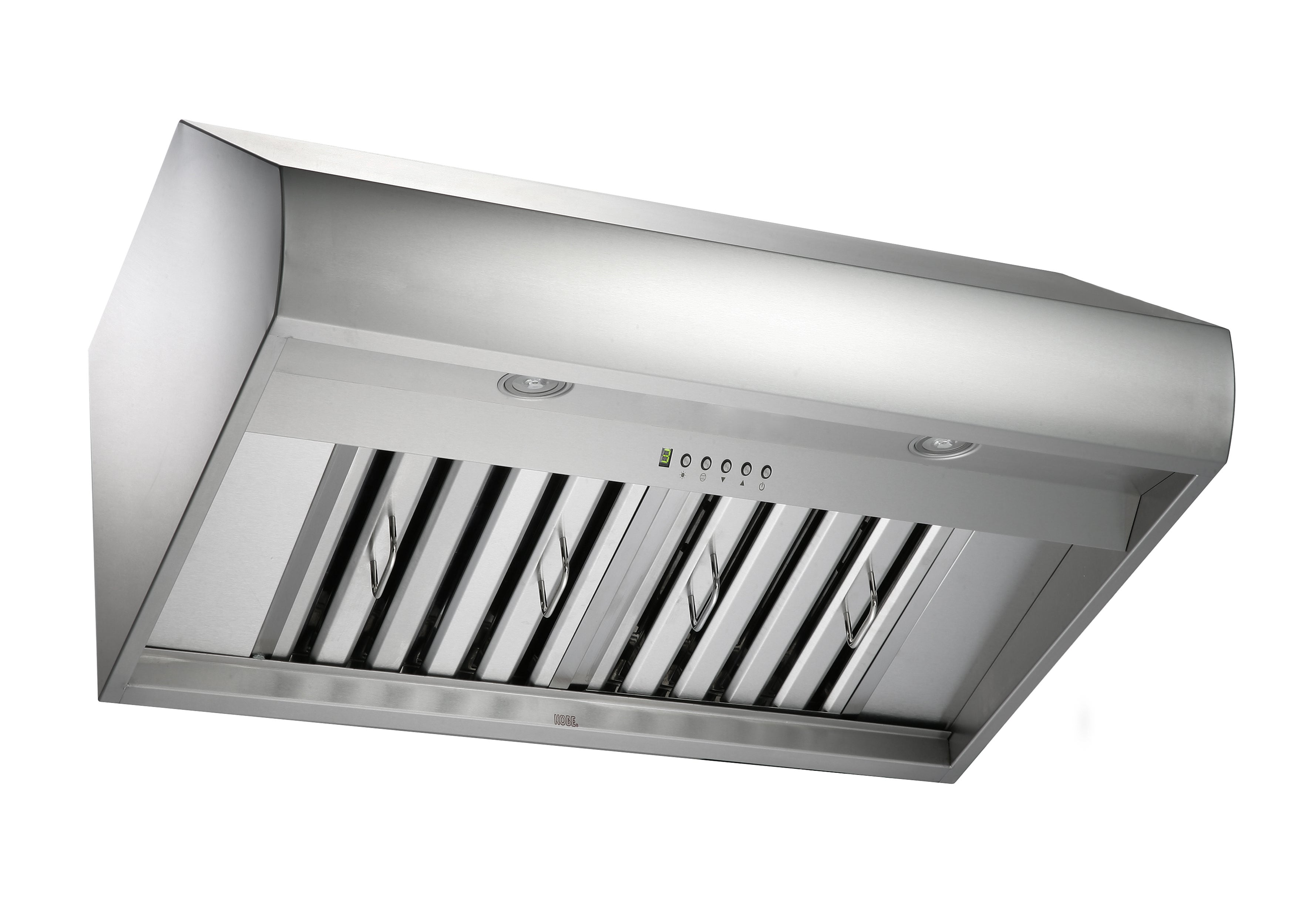 "KOBE Premium CH-77 SQB-1 Series, 30"" Under Cabinet, 6-Speed, 760 CFM, LED Lights, Baffle Filters, QuietMode?, ECO Mode"